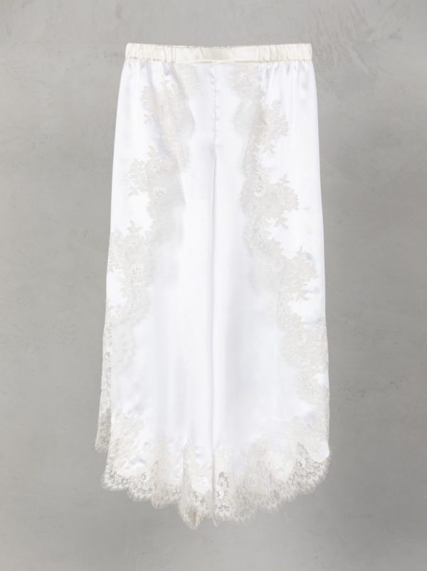 Wrap Silk Trouser