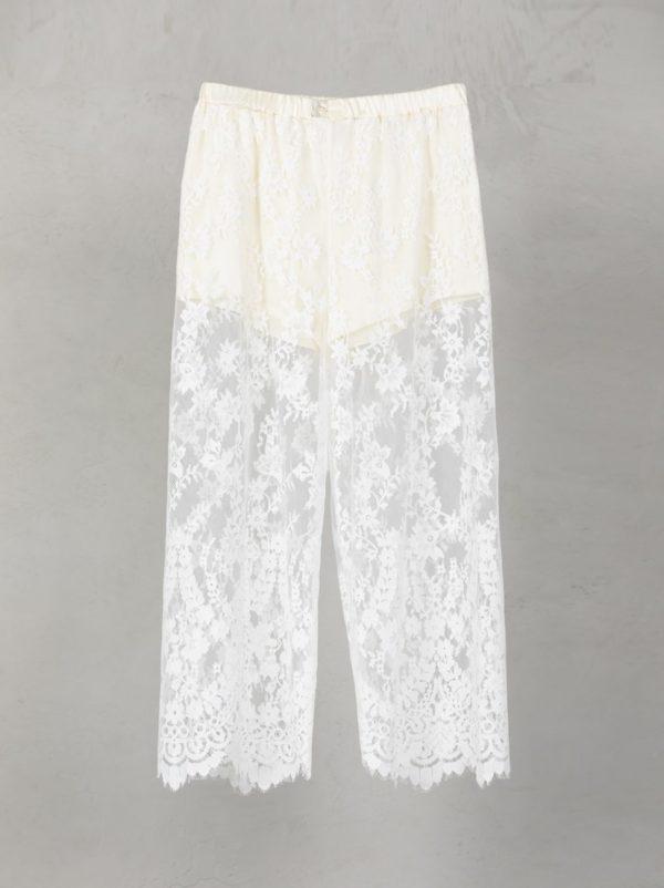 Lace Pants Short Lining